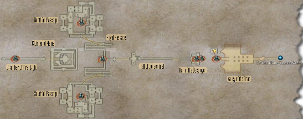FF12 Map - Tomb of Raithwall