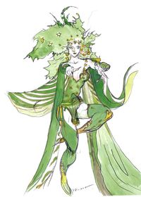 FFIV-Rydia artwork