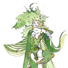 Rydia as adult.