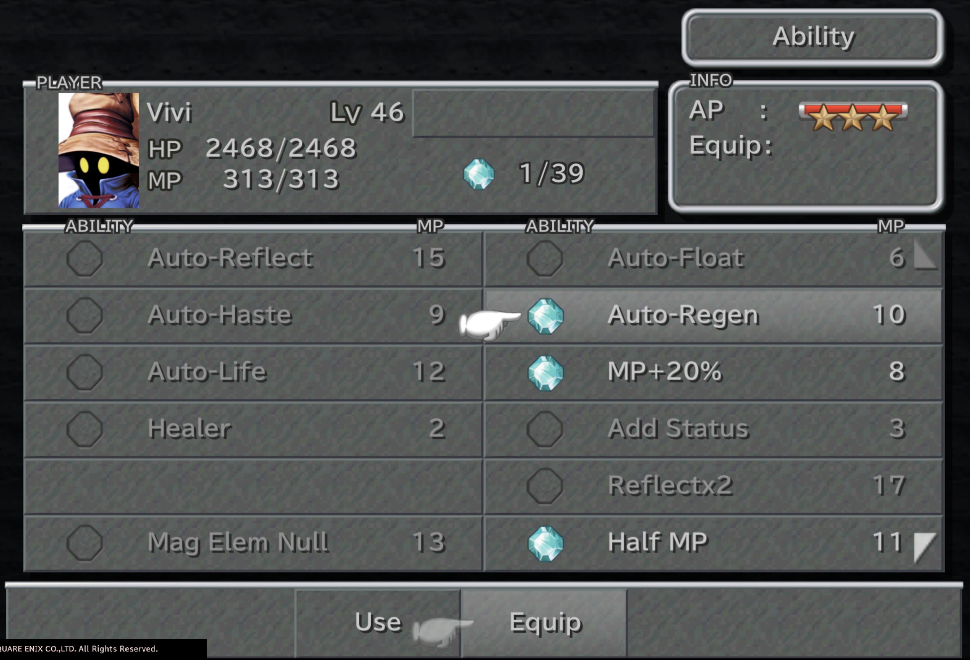 List Of Final Fantasy Ix Support Abilities