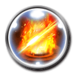 FFRK Blazing Quadstrike Icon