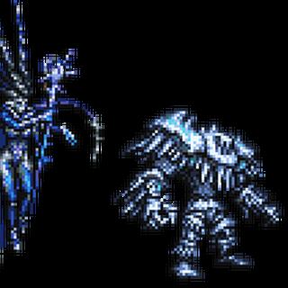 <i>Final Fantasy XIV</i> boss sprite.