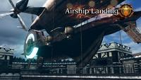 FFT0 Airship Landing