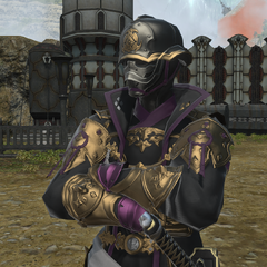 Imperial samurai stationing in Doma territory.