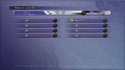 FFX Abilities Menu PS3