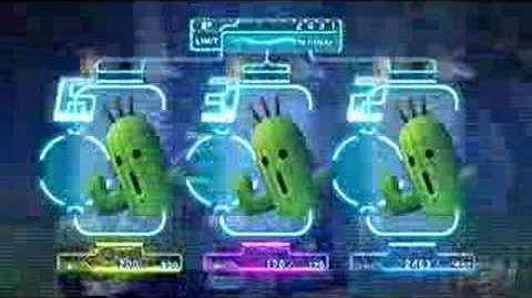 Cactuar/Summon sequences