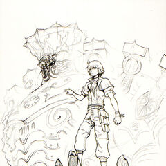 Concept art of Hope on Alexander.