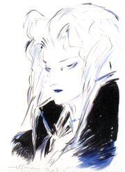 Sephiroth 2012 Amano Art 2