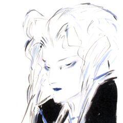 Yoshitaka Amano artwork for the September 2012 issue of the Japanese art magazine, <i>Illustration</i>.