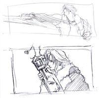 Squall FFVIII Art