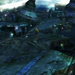 Zanarkand Ruins in <i>Final Fantasy X</i>.