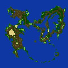 Первый мир после разрушения кристаллов