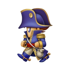 Artwork of Bartz as a Cannoneer.