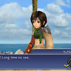Yuffie stole a materia from Tifa.