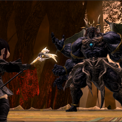 Early in-game screenshot of Sephirot released by Square Enix.