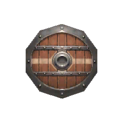 Mahogany Shield.