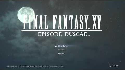 Final Fantasy XV Episode Duscae Somnus (Instrumental)