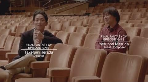 Final Fantasy XV Episode Ignis - Yasunori Mitsuda Extended Interview w subs