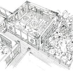 Дом Годо в Вутае.