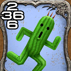 Cactuar from <i>Final Fantasy VIII</i>.