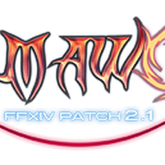 Patch 2.1 <i>A Realm Awoken</i> logo.