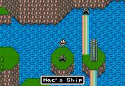 FFMQ Mac's Ship