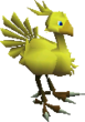FFVII Chocobo in Battle