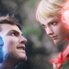With Lyse in <i>Stormblood</i> opening.