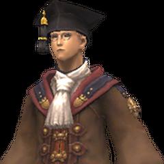 Scholar's attire<br />Academic's attire