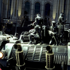 Imperial soldiers outside the Citadel.
