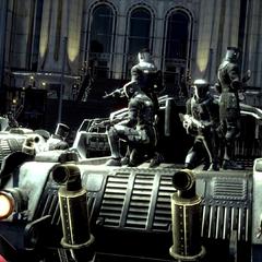 Имперские солдаты перед Цитаделью.