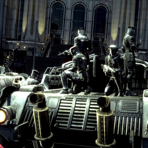 Infantry in the E3 2013 trailer.