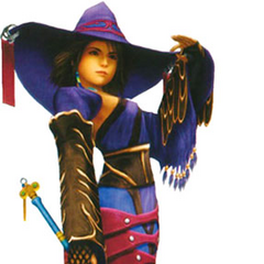 Yuna as a Black Mage.