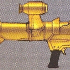 Concept art of the Bazooka in EX Mode.