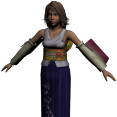 Modelo hi-res de Yuna.