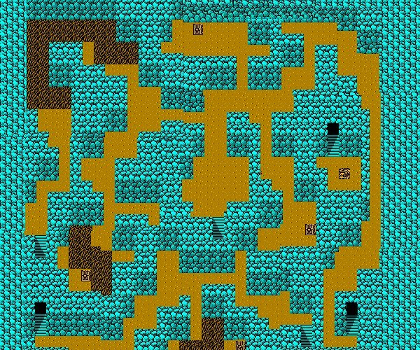 Image Ff Ii Nes Deist Cavern Second Floorjpg Final Fantasy