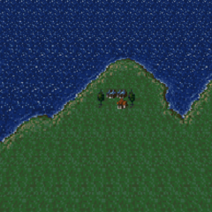 Kohlingen on the World of Balance map (SNES).