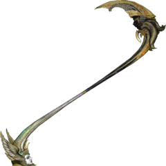 Lindzei represents the angelic half of Bhunivelze's scythe.