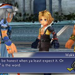 Wakka calls Firion pure.