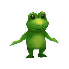 Toad render for Palom in <i>Final Fantasy IV</i> (iOS).