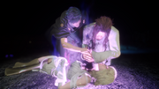 Somnus makes Ardyn kill Aera in FFXV Episode Ardyn