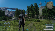Timed Quest marker from FFXV