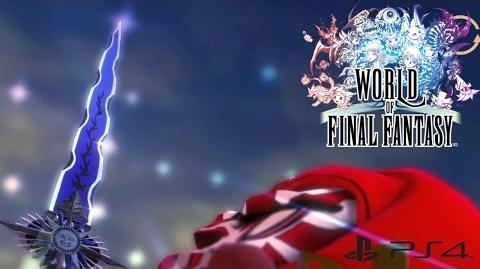 【WOFF】 ワールド オブ ファイナルファンタジー - 最強の剣 エクスカリバー World of Final Fantasy - Excalibur