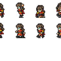 Set of Deuce's sprites.