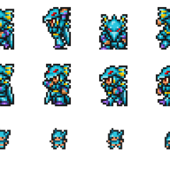 Set of Kain's sprites.
