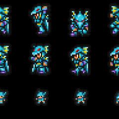 Set of Kain's sprites.