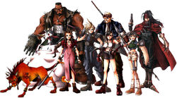 FFVII Playable Characters
