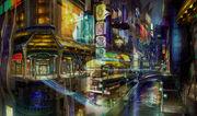 FFXIII-2 Academia Concept Art