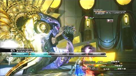 Final Fantasy XIII Combat contre Orphan