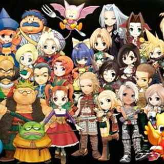 O elenco de <i>Itadaki Street Portable</i>.